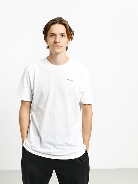 Tričko Volcom Crass Blanks Ltw (white)