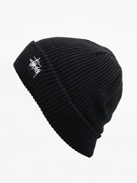 Čepice Stussy Basic Cuff (black)