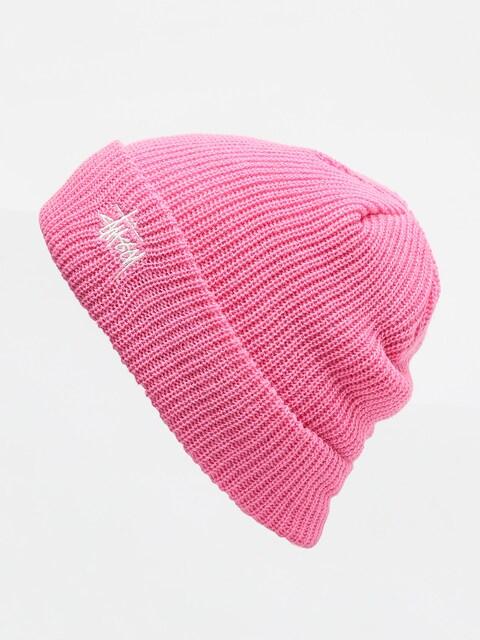 Čepice Stussy Basic Cuff (pink)