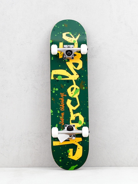 Skateboard Chocolate Eldrige Jawbreaker (green/orange)