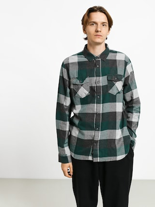 Kou0161ile Vans Box Flannel (trekking green/grey heather)