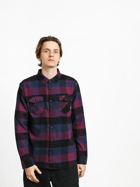 Košile Vans Box Flannel (prune/dress blues)