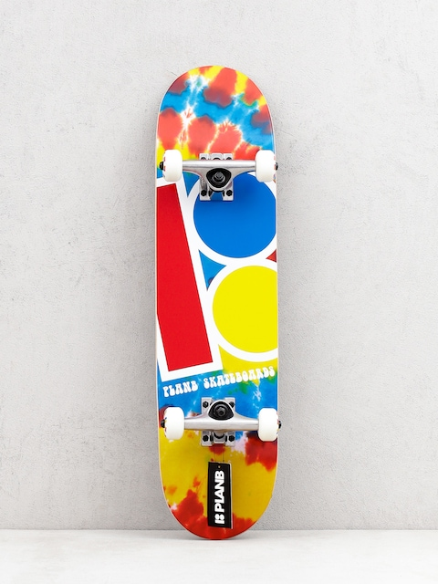 Skateboard Plan B Team Tie Dyed Mini (multi)