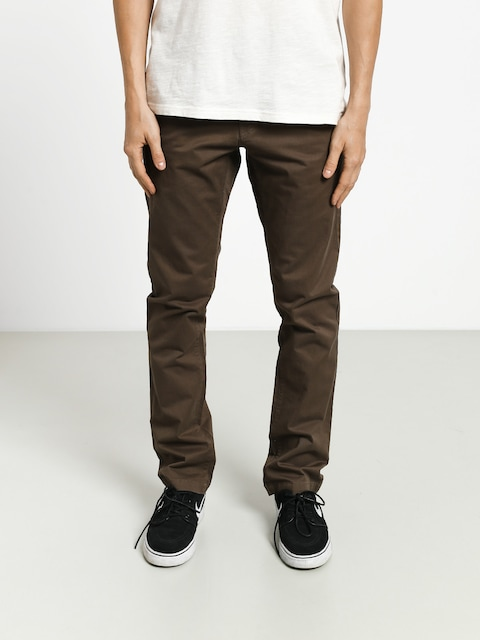 Kalhoty Volcom Frickin Slim Chino (major brown)