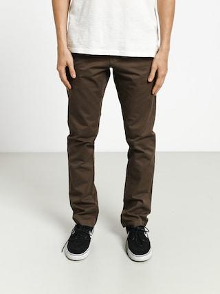 Kalhoty Volcom Frickin Slim Chino (major brown)