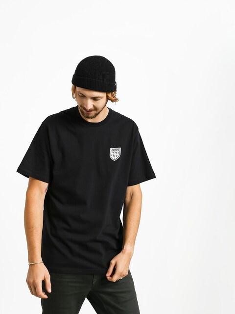 Tričko Prosto Lilshield (black)