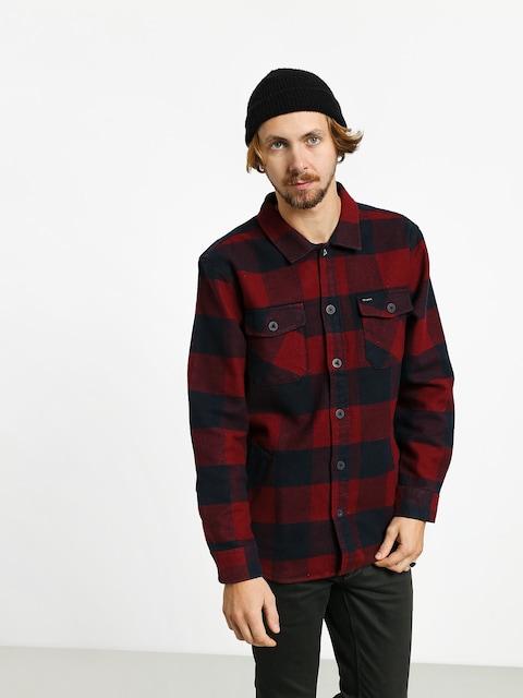 Košile Brixton Durham Flannel Ls (navy/red)