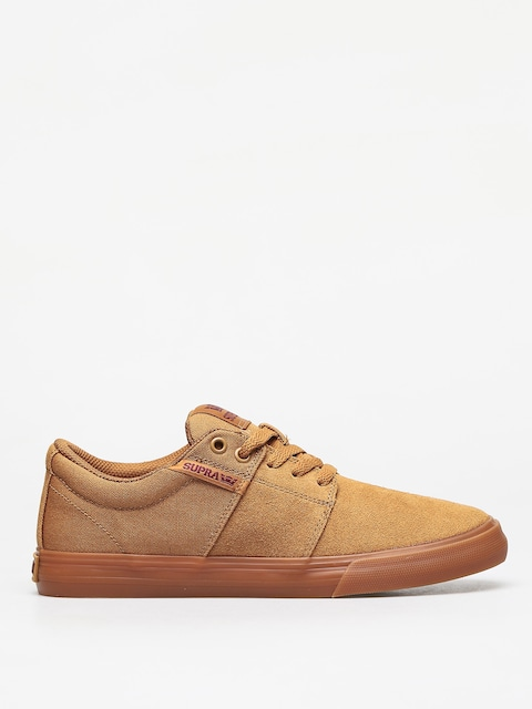 Boty Supra Stacks Vulc II (tan/brown lt gum)