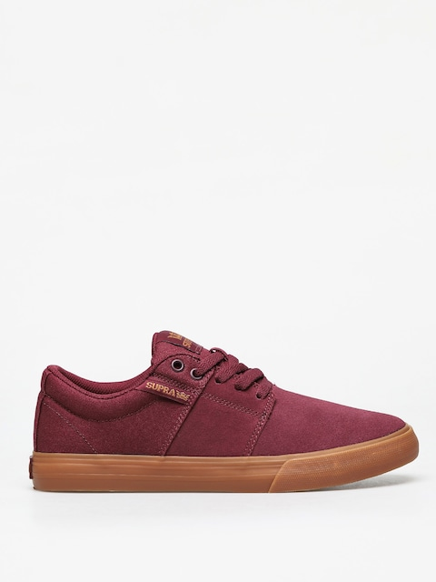 Boty Supra Stacks Vulc II (wine/tan lt gum)
