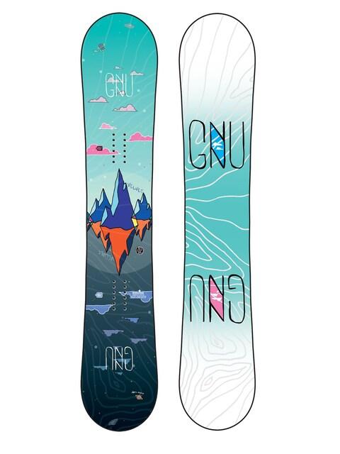 Snowboard Gnu Asym Velvet C2 Wmn (multi)