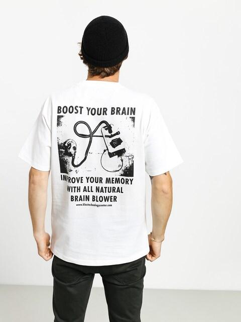 Tričko Polar Skate Brain Blower (white)