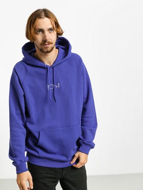 Mikina s kapucí Polar Skate Default HD (violet)