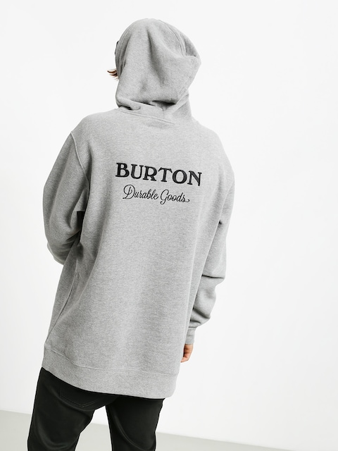 Mikina s kapucí Burton Durable Goods HD (gray heather)