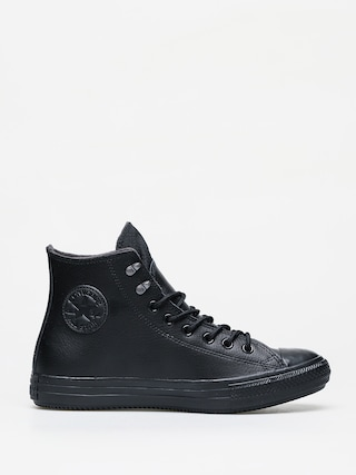 Tenisky Converse Chuck Taylor All Star Hi Winter Leather (black/black/black)