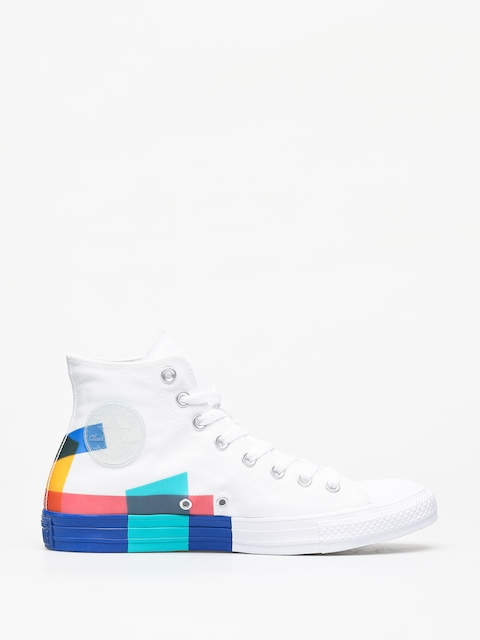 Tenisky Converse Chuck Taylor All Star Hi Space Racer (white/blue/enamel red)
