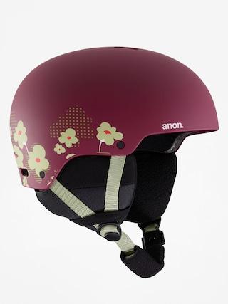 Helma Anon Rime 3 (flower maroon)