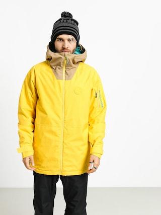 Snowboardovu00e1 bunda Burton Hilltop (maize/kelp)