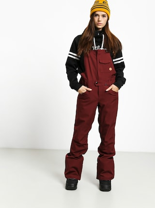 Snowboardovu00e9 kalhoty  Volcom Swift Bib Overall Wmn (scr)