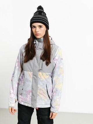 Snowboardovu00e1 bunda Roxy Jetty Block Wmn (edelweiss)