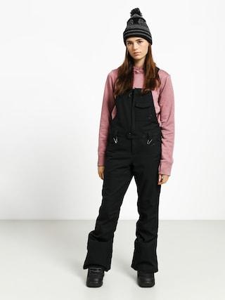 Snowboardové kalhoty  Volcom Swift Bib Overall Wmn (blk)