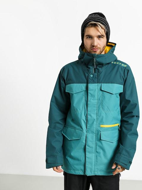 Snowboardová bunda Burton Covert (gbslat/dpteal)