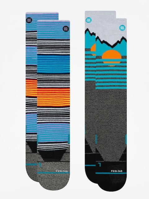 Ponožky Stance Mens Mountain 2 Pack (multi)