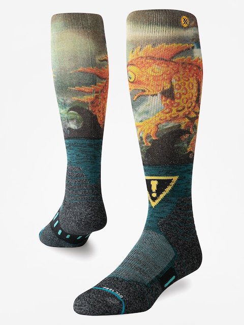Ponožky Stance Lizard Lou (green)