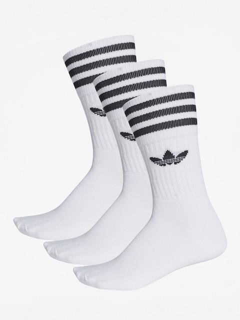 Ponožky adidas Solid Crew (white/black)