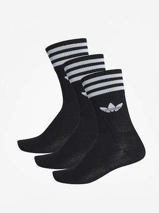 Ponou017eky adidas Solid Crew (black/white)