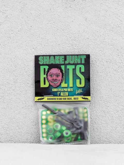 Šroubky Shake Junt Kader Sylia Allen (black/green)