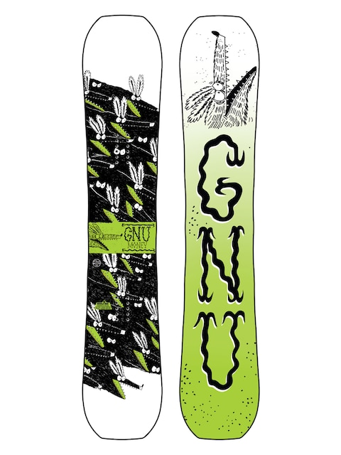 Snowboard Gnu Money C2E (multi)
