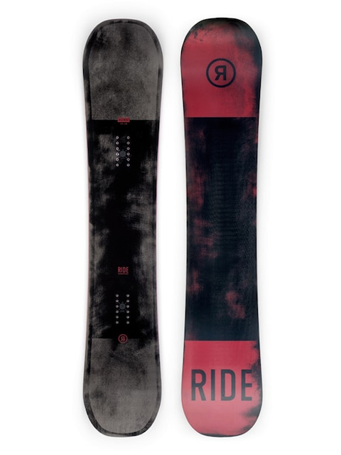 Snowboard Ride Agenda (red/black)