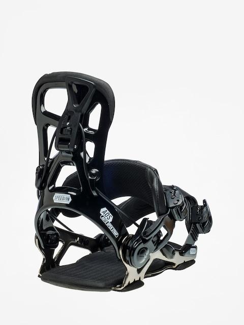 Snowboardové vázání Gnu Psych (black)