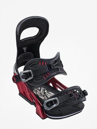 Snowboardovu00e9 vu00e1zu00e1nu00ed Bent Metal Transfer (red)