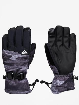 Rukavice Quiksilver Mission Glove (black mat paint)