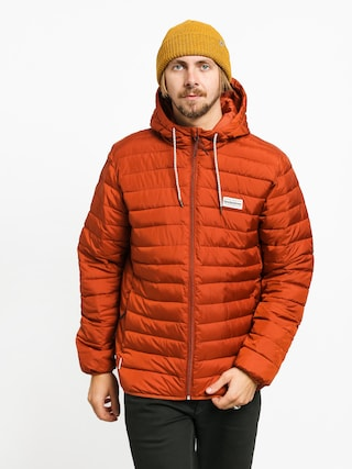 Bunda Quiksilver Scaly Hood (burnt brick)