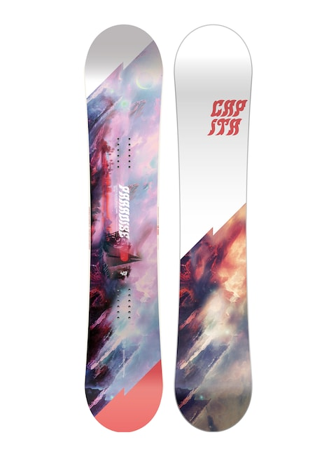 Snowboard Capita Paradise Wmn (white/black/red)