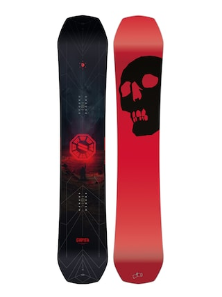 Snowboard Capita The Black Snowboard Of Death (red/black)