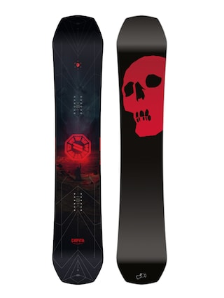 Snowboard Capita The Black Snowboard Of Death (black/red)