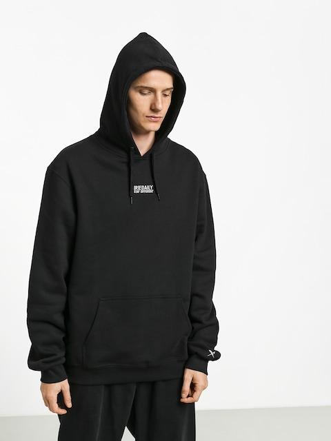 Mikina s kapucí Iriedaily Minimentum HD (black)