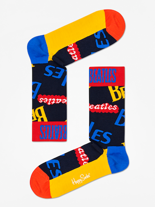 Ponou017eky Happy Socks The Beatles (dark navy/yellow/red)