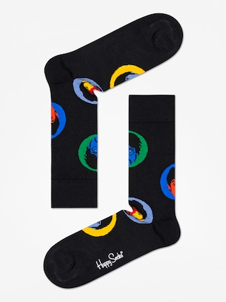 Ponou017eky Happy Socks The Beatles (black/yellow/blue/green)