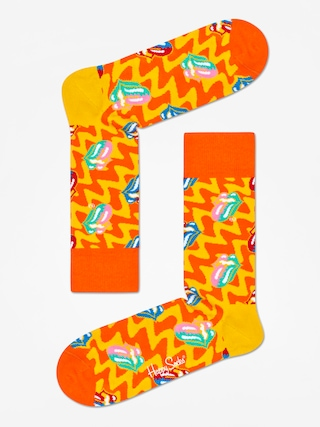 Ponou017eky Happy Socks Rolling Stones (orange/yellow)
