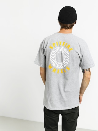 Tričko Spitfire Og Clsc Dbl (athletic heather/yellow)