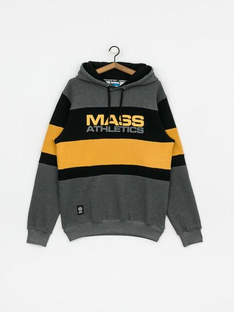 Mikina s kapucí MassDnm Slapshot HD (dark heather grey)
