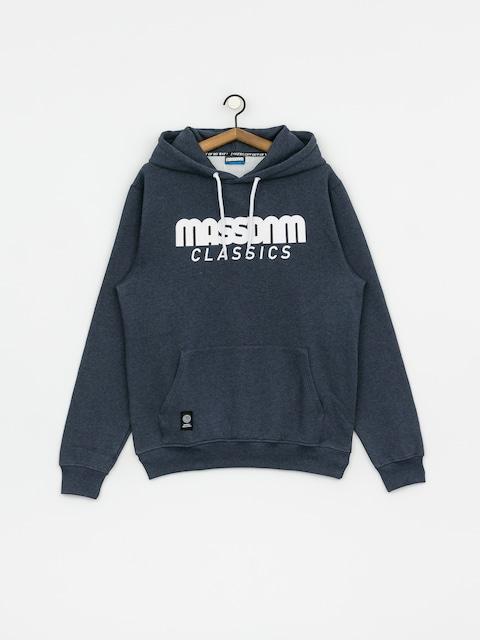 Mikina s kapucí MassDnm Classics HD (heather navy)