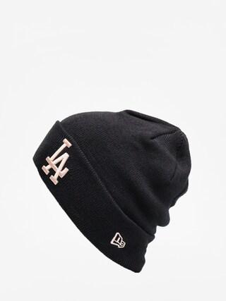u010cepice New Era League Essential Cuff Knit (black/blush sky)