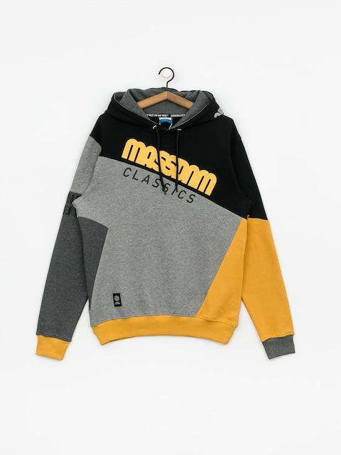 Mikina s kapucí MassDnm Boomerang HD (black)