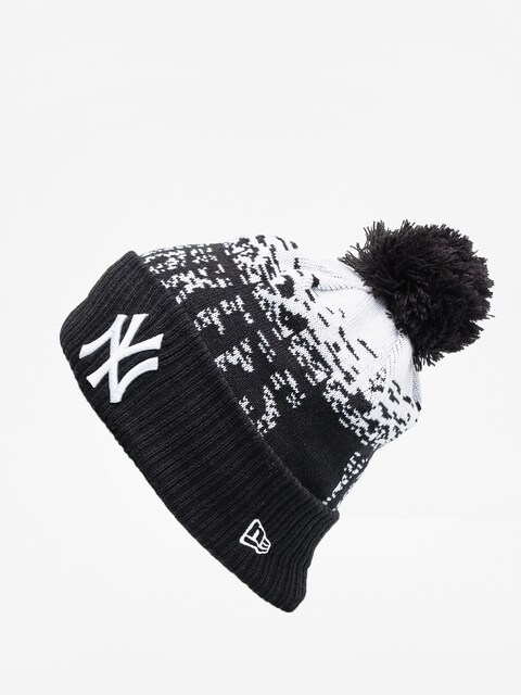 Čepice New Era Mlb Sport Knit (black/optic white)