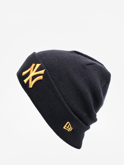 Čepice New Era League Essential Cuff Knit (navy/rose gold)